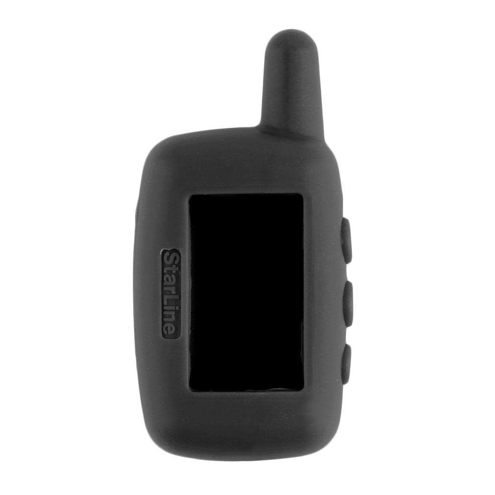 A9 Case Penutup Kunci Mobil Remote Kontrol Silikon Pelindung Flip Case Hitam OH