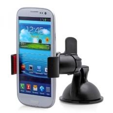 Aduro GRIP CLIP Universal Dashboard Windshield Car Mount for Smart Phones, Apple iPhone 5 / 5S / 5C / 4 / 4S / 3G, Samsung Galaxy S2 / S3 / S4, Galaxy NOTE 2, Motorola Droid RAZR / MAXX, HTC EVO 4G, HTC One X, LG Revolution, GPS Holder (Black) - intl