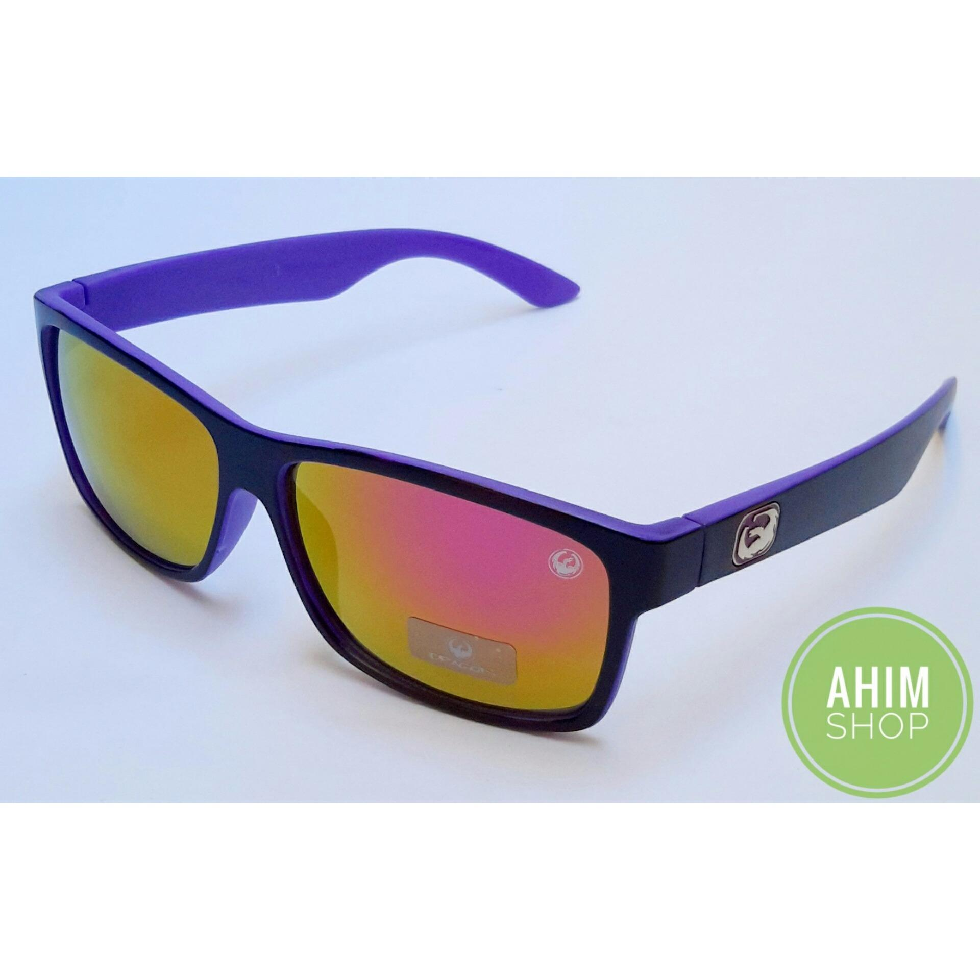... Ahim Shop - UV400 Kacamata Fashion Sports Stylish Pria Wanita - Sunglasses  Dragon AL214-2 ... 48c47ea072