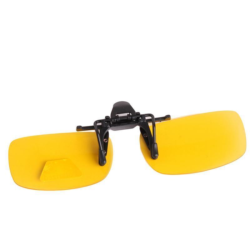 Ai Home Malam klip lensa terpolarisasi Unisex Kacamata Hitam Jepitkacamata miopia kuning Kaca Mata Produk Mengemudi ...