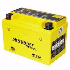 Aki Motor Motobatt MTX9A aki MF - Yellow