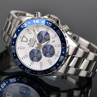 Alba Active Chronograph Jam Tangan Pria - Tali Stainless Steel - AT3909X1 - 5