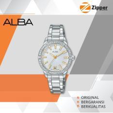 Alba Fashion Analog Jam Tangan Wanita - Tali Stainless Steel - AG8H07X1