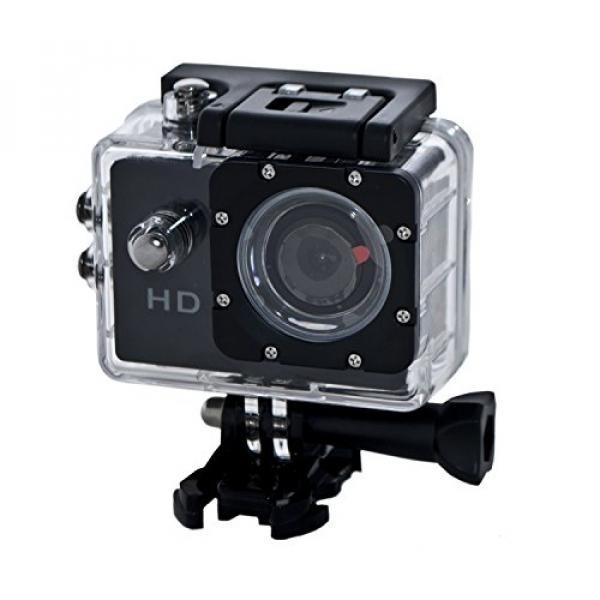 ALEKO ASPC002 1.5-Inch WiFi HD 720 P 12 MP Sports Waterproof Digital Camera