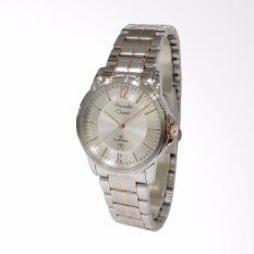 Alexandre Christie 8598 Classic Steel Jam Tangan wanita - Silver Rose Gold