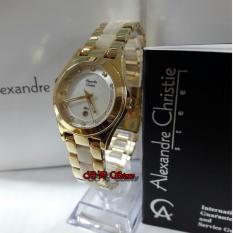 Alexandre Christie AC2477 Original - Jam Tangan Wanita - Stainless Steel