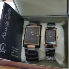 Alexandre Christie AC8235 Jam Tangan Couple Stainless Steel