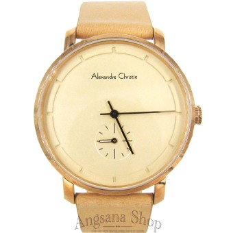 Alexandre Christie AC8485 - Jam Tangan Fashion Elegant Wanita - Fiture Analog Simple - Chrono Detik