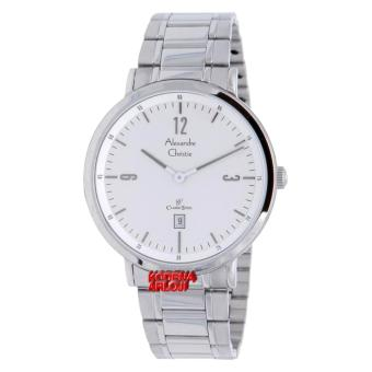 Alexandre Christie - AC8499M - Jam Tangan Pria - Stainless Steel - Silver