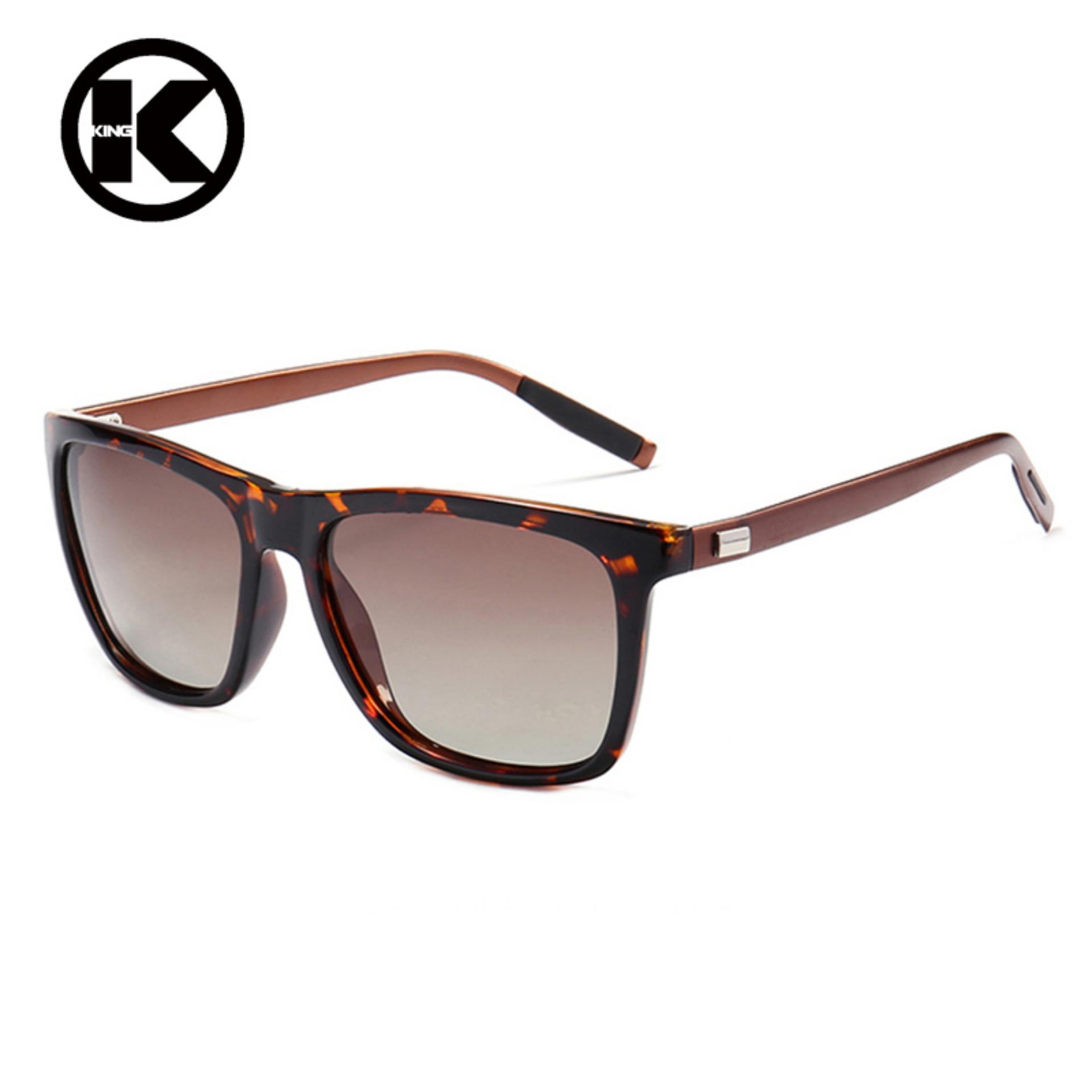 Baru Retro Kecil Kotak Sunglasses Pria dan Women Tren Sunglasses-Putih Kotak OCEAN BLUE- Aluminium + Tr90 Sunglasses Pria Terpolarisasi Merek Desain Poin ...