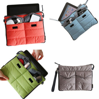 Amart Organizer Sleeve Pouch Storage iPad Bag Travel Ipad Mini Soft With Handles(Grey) - intl - 3