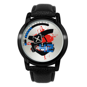 'Anime LED Touching Screen Waterproof 100M Boys'' FashionWatches(Color:Daomu Note) - intl' - 2