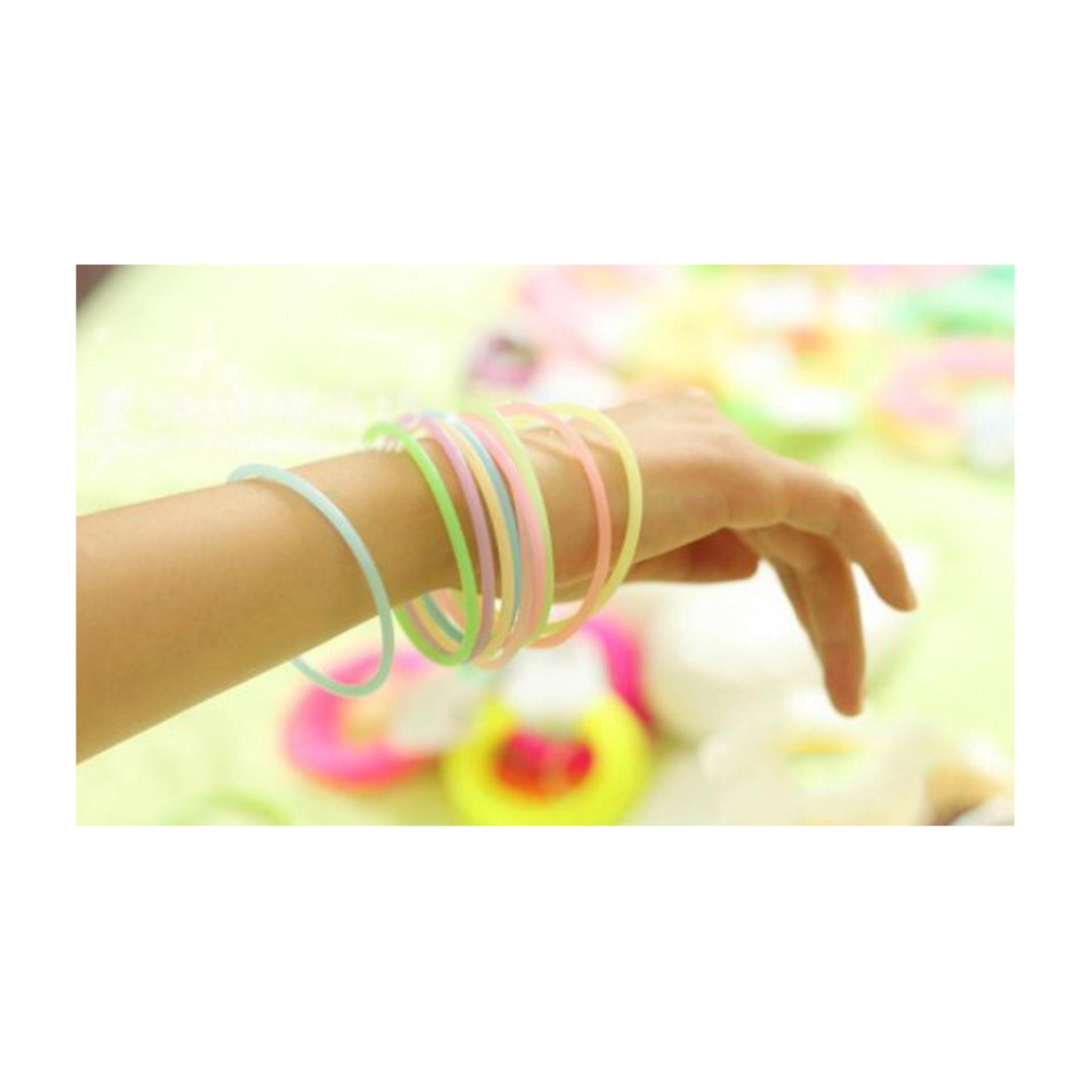 Anneui - Silicone Band - GLOW IN THE DARK .