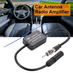 Antena Mobil Antena Penguat Amplifier Penguat Sinyal Radio FM88-108 mhz Hitam MA799