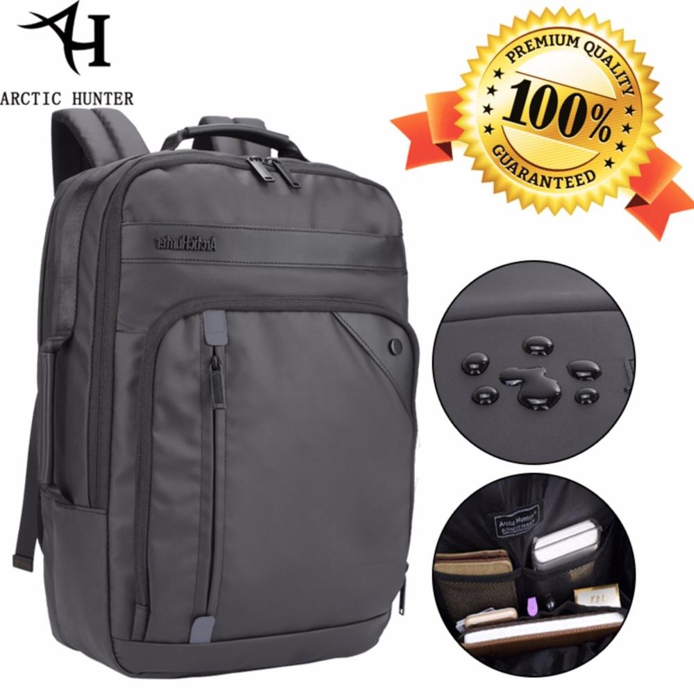 Arctic Hunter Tas Ransel Laptop Premium Executive Business Backpack Oxford AH-EB - Hitam