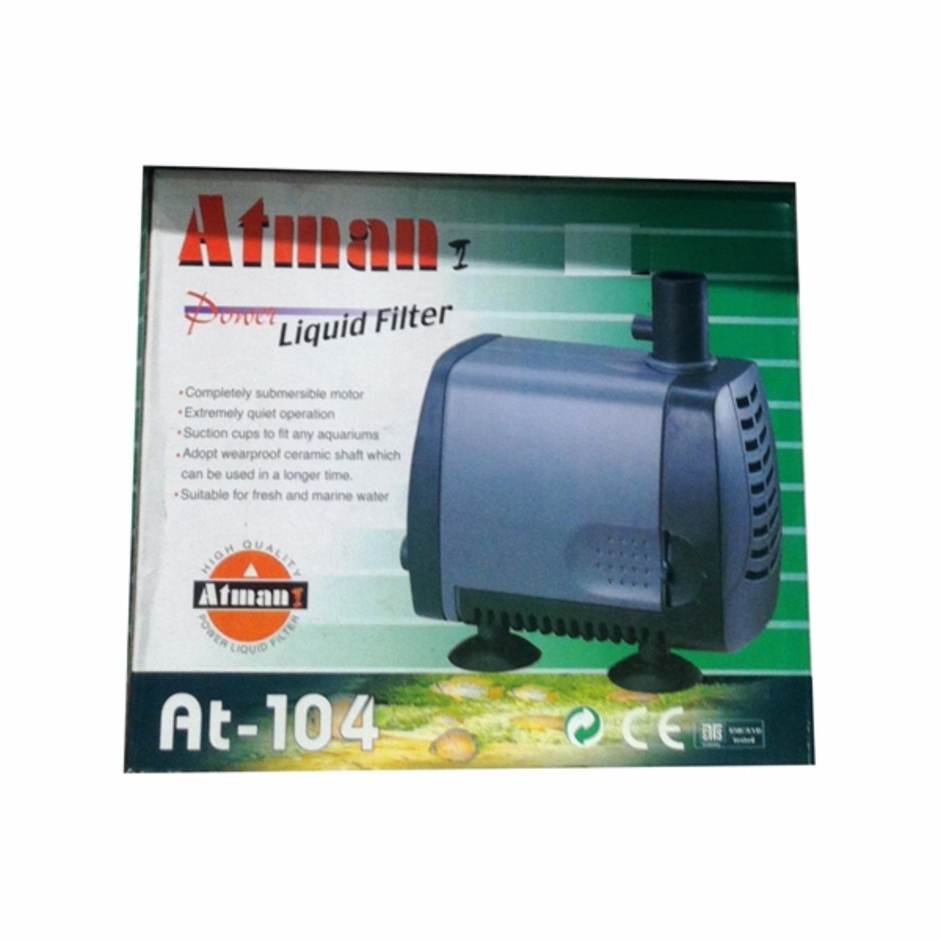 ... Atman AT-104 Pompa Air Hidroponik / Akuarium 2000 Liter/Jam 38 Watt ...