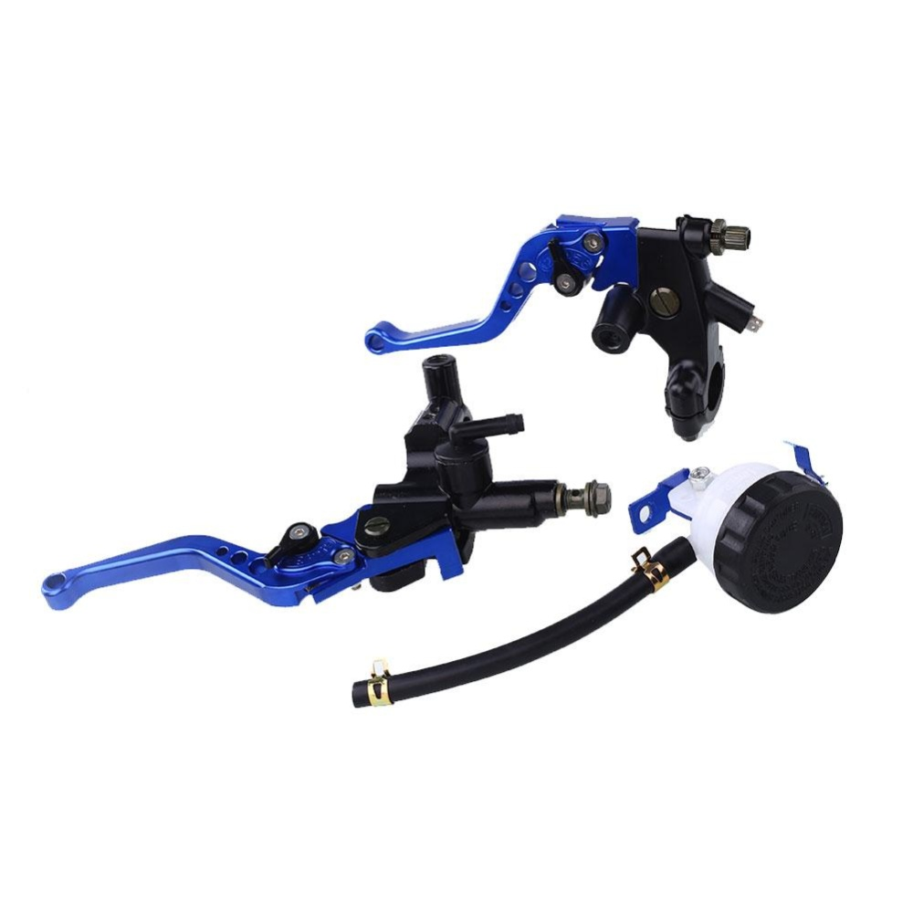 Aukey NEW 1Pair 22mm 7/8'' inch Front Handlebar Brake Clutch Master Lever Motorcycle - intl