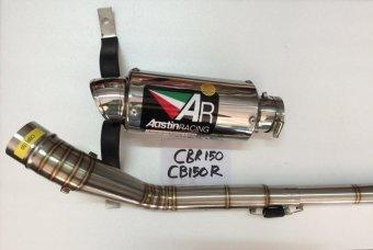 Austin Racing Knalpot Gp2R Titanium Can Full Systems Made in Thailand for Honda CBR150