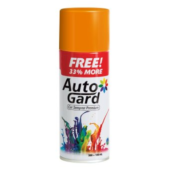 AutoGard - 44 Paint - Orange - Oranye - Premium Automotive Motorcycle Car Aerosol Premium Paint - Cat Semprot Mobil Motor Premium