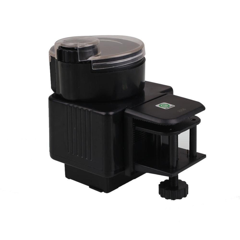 Automatic Tank Fish Food Feeding Feeder Timer Timely Dispenser Black New