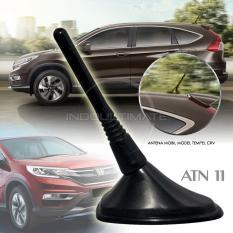 Autorace Antena CRV Dekorasi Perekat 3M Modifikasi / Aksesoris Mobil  ATN-11 - Black