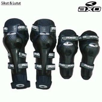 AXO Decker Deker Dekker Pelindung Lutut Knee Protector MotorTouring Tour Biker Bike