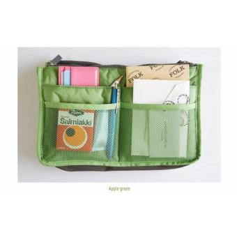 Baby Talk Korean Bag in Bag - Organizer Bag Tas Unik Untuk Wanita Tas kosmetik Tas Serbaguna Dompet Kosmetik Tas Accessories Dompet Aksesoris - Warna Random - 5