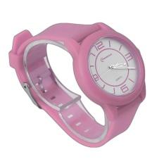 BAIK MINGRUI Kreatif Luxury Wrist Watch Karet Strap QuartzWristWatch 8820 Pink (Tidak Ditentukan) (LUAR NEGERI)-Intl