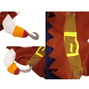 ... Kata Cetak Merah T Source · Bajak laut keren gaya pakaian hewan peliharaan berpakaian dengan topi untuk anak anjing kucing atau Halloween