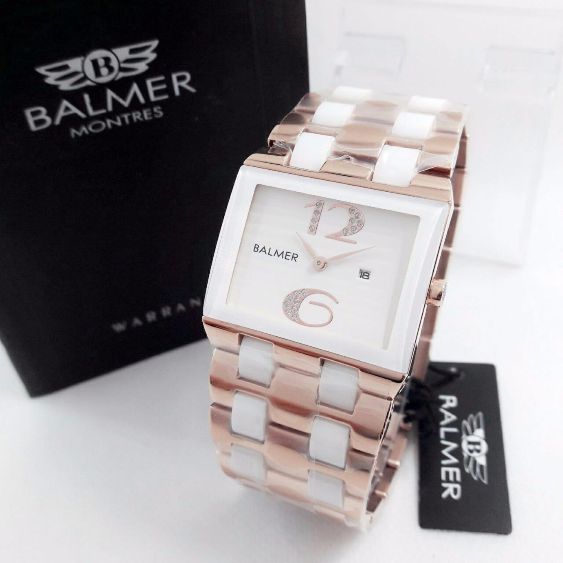 Balmer Jam Tangan Couple Leather Strap Bl 7930 Daftar Harga Casual Man D48h675b7905mckth Chronograph Pria Coklat Fashion Wanita Murah Bl7959wro All Stainless Quartz