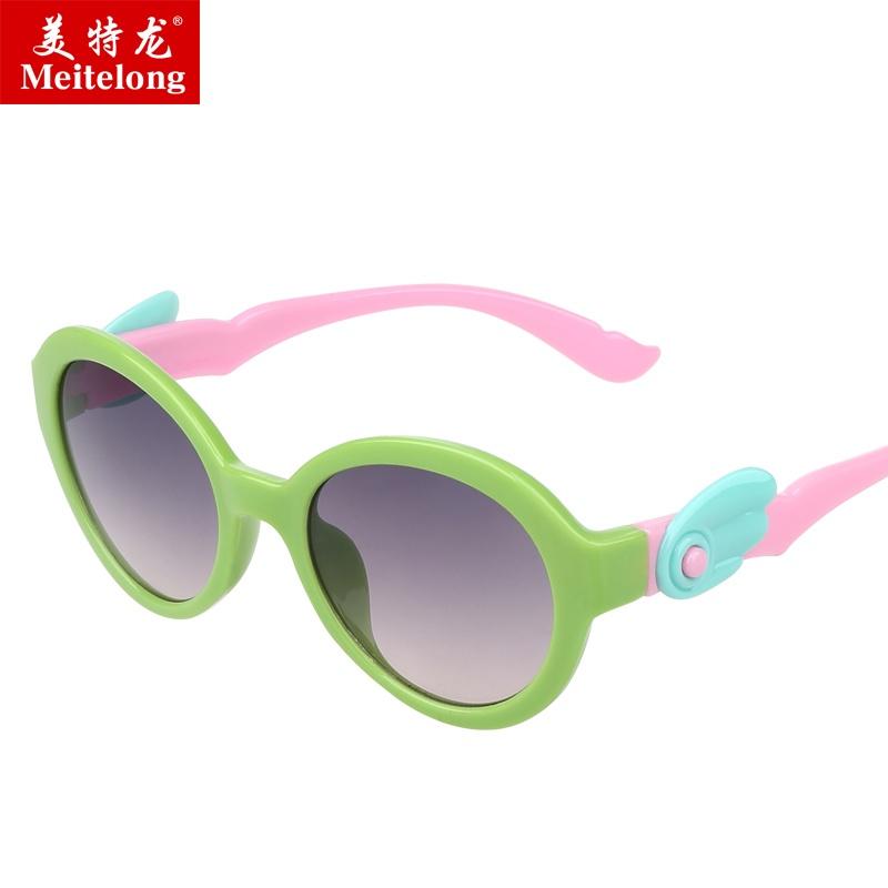 Bayi lucu anak laki-laki dan perempuan UV kaca mata kacamata hitam untuk anak-