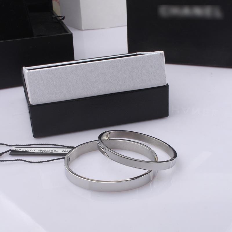 ... Beberapa 18 k Korea Fashion Style titanium baja naik berlapis emas mengkilap Bracelet