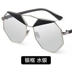 Bertha perempuan pelindung layar warna baru kacamata hitam
