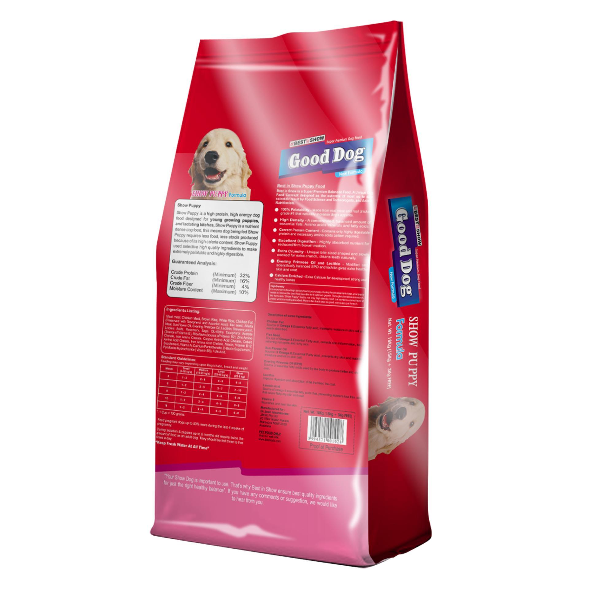 Best in Show Puppy [1.2 kg + 400 g] Makanan Anak Anjing