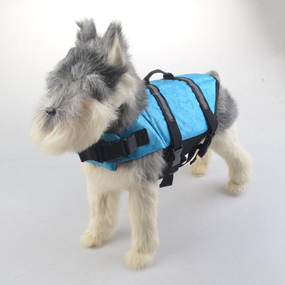 Bevoker Dog Life Jacket Safety Clothes Swimming life jacketsSwimwear with Adjustable Belt for Dog Pet Size XS - intl