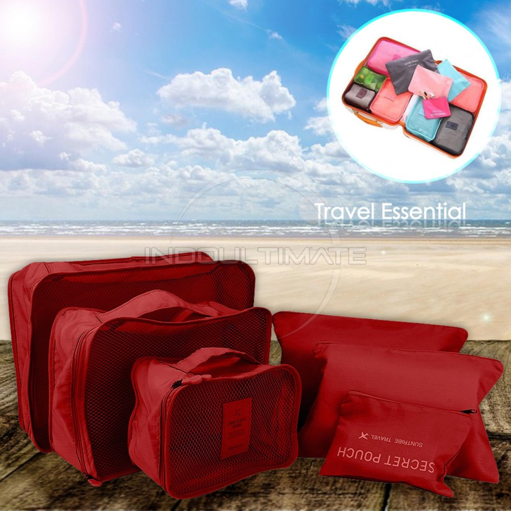 big size travel bag 6in1