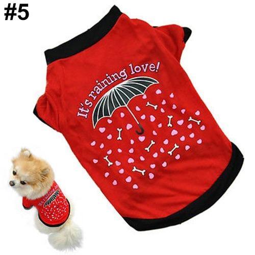 Bluelans(R) Unisex Puppy Dog Cat Cotton Hoodie T-Shirt Vest Spring Autumn Clothes Apparel XS (#5) - intl