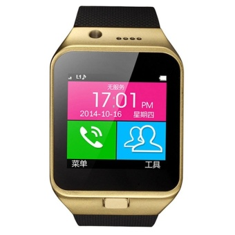 Bluetooth Smart Wrist Watch Phone Mate for Android (Black)   - intl