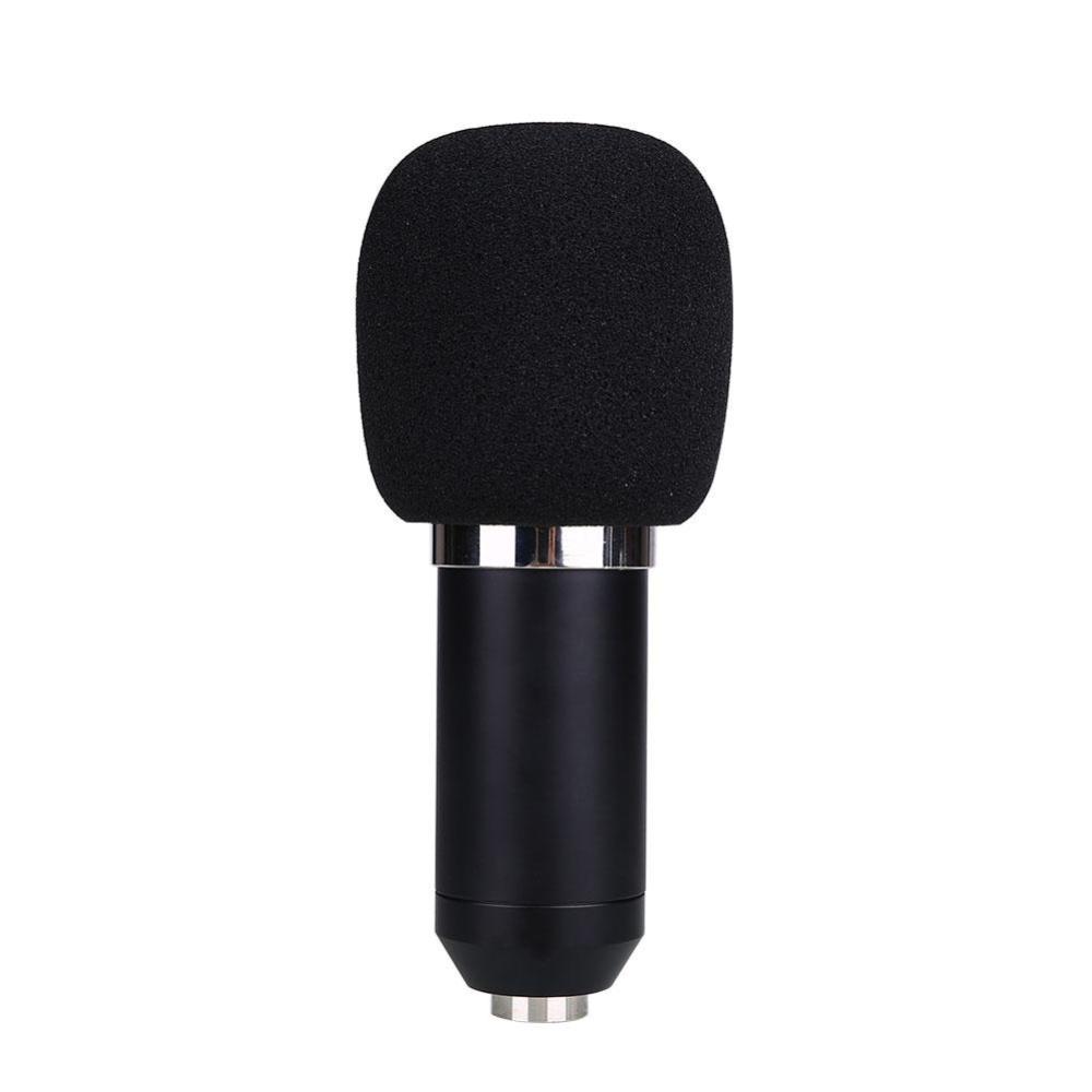 BM800 Kondensor mikrofon Pro Audio Studio Mic rekaman vokal untuk Radio KTV