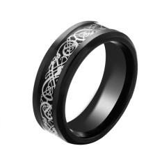 U7 Band Punk Yang Men Cincin Kubik Zirkon Emas Perhiasan Pernikahan Source · BODHI Men s
