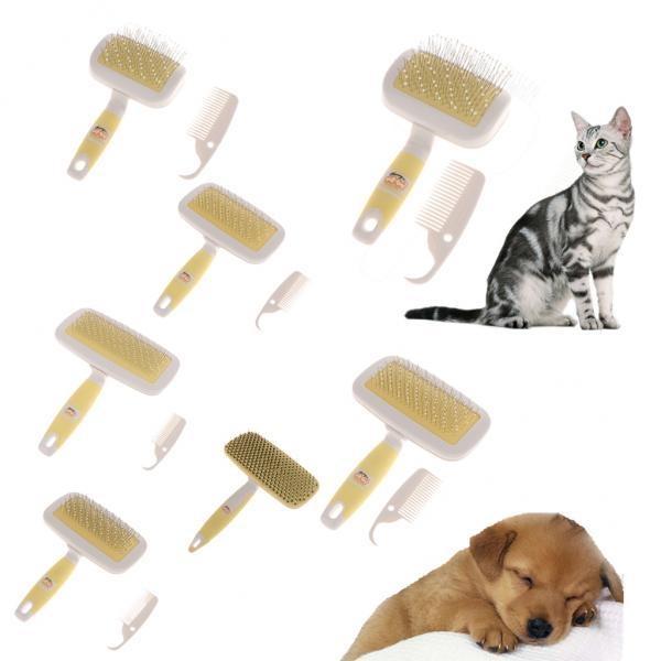 BolehDeals Pet Grooming Brush Rake Cat Dog Hair Fur Brush Comb Pin Brush Slicker HS-92 - intl