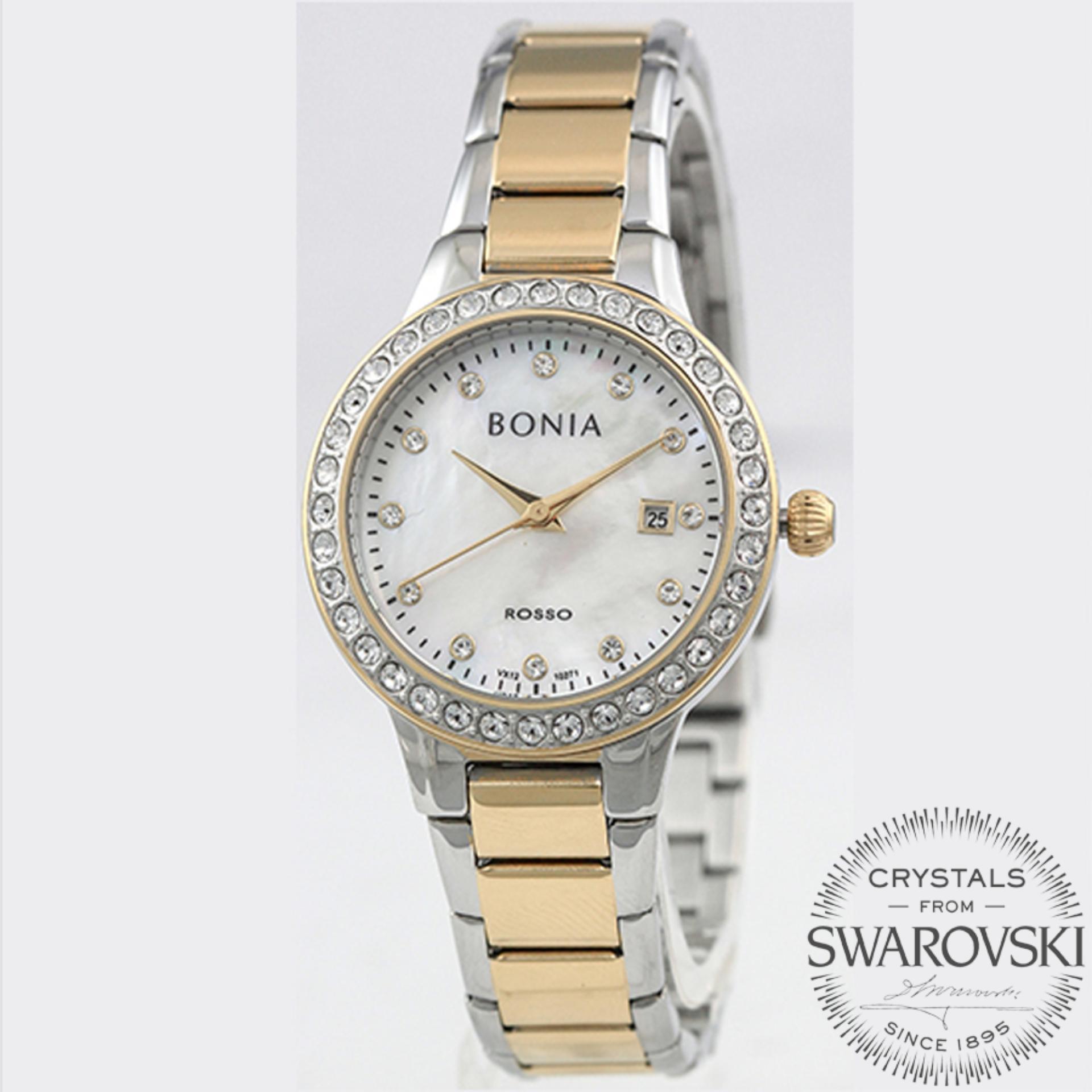 Bonia B10282 2223s Jam Tangan Wanita Gold Daftar Harga Terbaru Original Rosso Br10067 2355 Stainless Steel Bn 2247 Source Bn10271