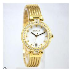 Bonia BNB10317-2257S Jam Tangan Wanita - Stainless Steel (Gold)