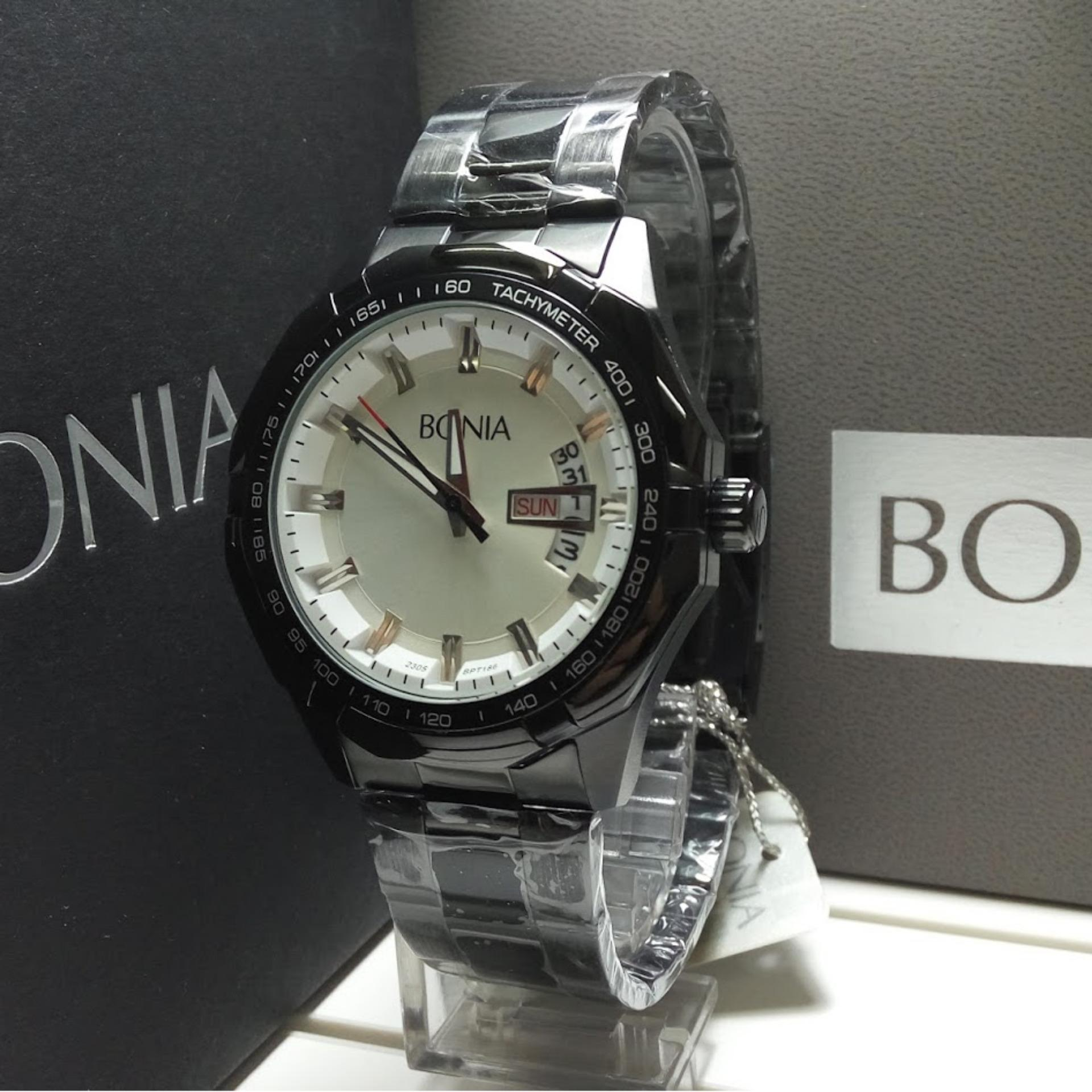 Bonia Jam Tangan Pria Bpt176 1334c Silver Black Stainless B796 3135 Rosegold Wanita Source