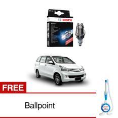 Bosch Busi Super 4 FR78X Mobil Daihatsu Xenia 1.3 - 1 Pcs - Free Bolpoin