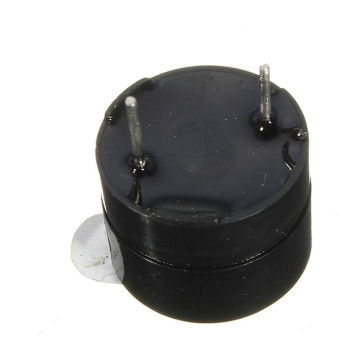 Brand New Black 5V Electromagnetic Active Buzzer Continous Beep Continuously - 2