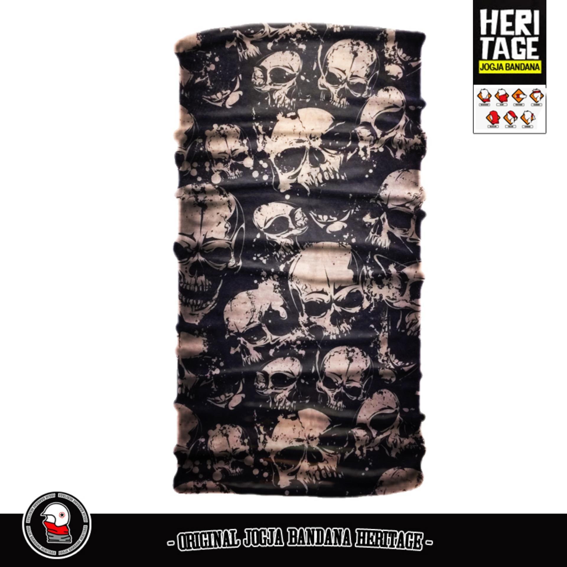 Buff bandana masker serbaguna elastis Tanpa sambungan (Seamless) - Limited Edition .