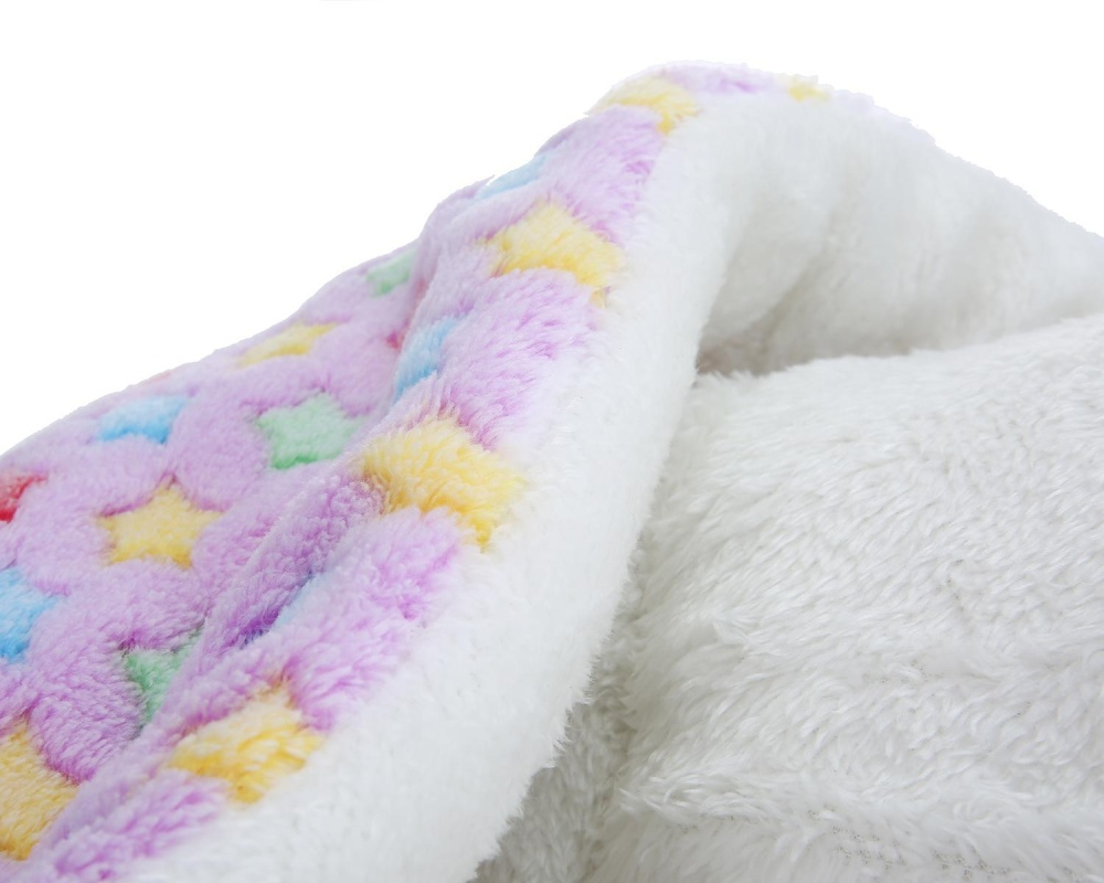 burmab Pet Dog Sleep Mat Wool Soft Warm Cushion For Cat.(RandomColor.) - intl