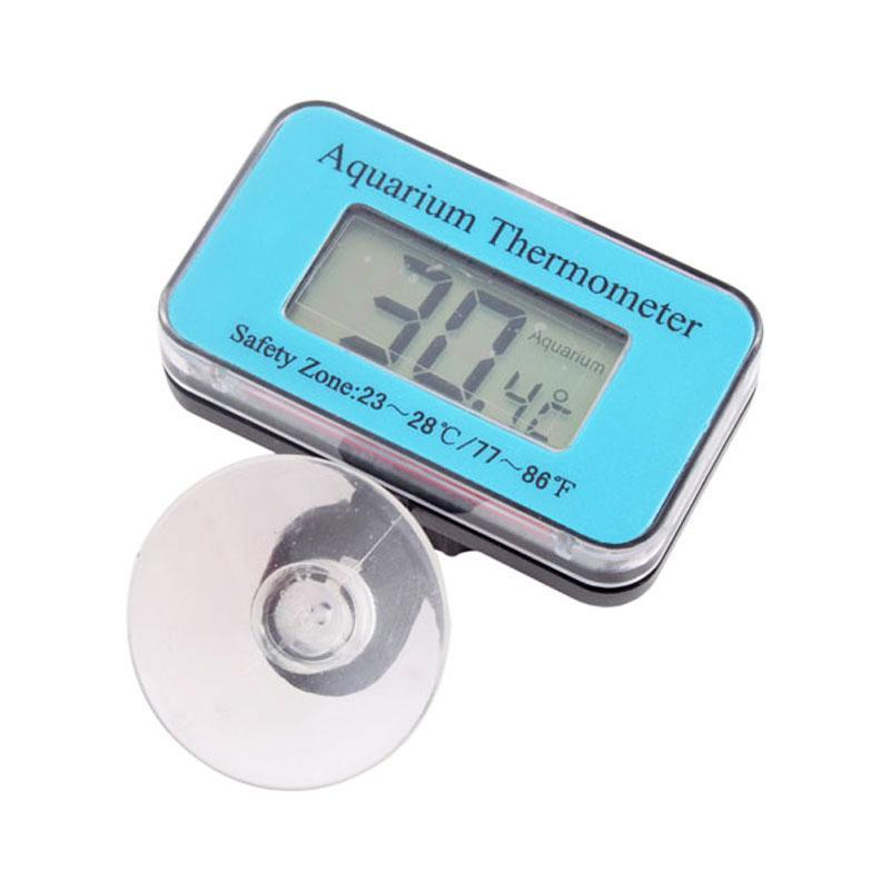 BUYINCOINS Aquarium Thermometer (Blue) - intl