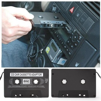 Car Cassette Casette Tape 3.5mm AUX Audio Adapter MP3 /MP4 PlayerCD For iPhone - intl - 4